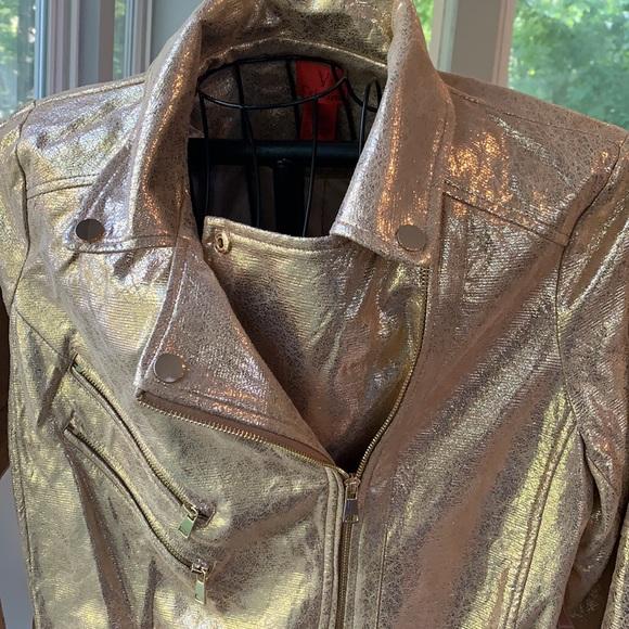 Gold Metallic Jacket